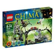 Lego 70133 - Chima, La caverna di Spinlyn, 407 pz.