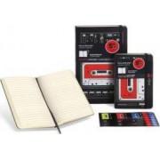 Moleskine Hard Audiocassette Ruled Notebook Large by Moleskine