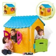 Kućica sa košem i tunelom - PLAY HOUSE FEBER