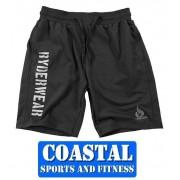 Ryderwear Track Shorts Black Gym Training Street wear ryder Cross FIT