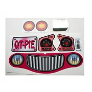 New Replacement Decals Fits Little Tikes Cozy Coupe II Ride on Pink QTPIE