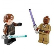 Anakin Skywalker & Mace Windu (Loose) Lego Star Wars Clone Wars Figures