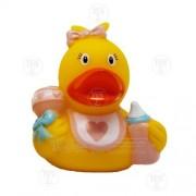 Lilalu Baby Girl Mini Rubber Duck Bath Toy