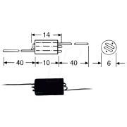 06H-75 - Breitbanddrosselspule 0,75kOhm