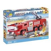 Cobi 1467 Action Town Aeroporto Fire Truck, 420Pezzi