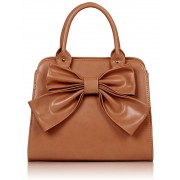 Kabelka LS005A- Nude Bow Tote Bag