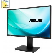 "Monitor IPS LED Asus 27"" PB279Q, UHD (3840 x 2160), HDMI-MHL, DisplayPort, 5 ms GTG, Boxe, Flicker free, Low Blue Light, TUV certified (Negru)"