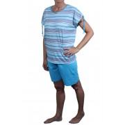 Loen Lemon - C dámské pyžamo M světle modrá