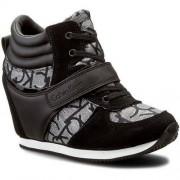 Calvin Sneakersy CALVIN KLEIN JEANS - Viridiana RE9642 Silver/Bla