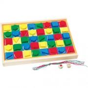 Colorama szín- és formakirakó fűzős játék
