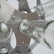Suspension IKOSAEDER - le meilleur du recyclage - déco et design