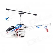LS-211 rechargeable télécommande IR 3.5-CH Mini R / C Helicopter w / Gyro - Blanc (6 x AA)
