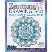Zentangle Drawing for a Calm & Focused Mind by CZT Suzanne McNeill