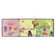 Jill McDonald Kids Set of 3 Little Chunky Books Girly Girl