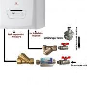 Pachet instalare centrala termica Saunier Duval Semia/Thelia Condens