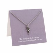 This Little Fairy... Protect and Watch Over You Charm Necklace