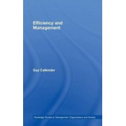 Efficiency and Management by Guy Callender