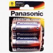 Blister de 2 pilas Alcalinas Panasonic XL R20