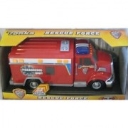 Tonka Rescue Force Lights and Sound Paramedic EMT Vehicle - Hyper Lighting