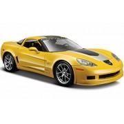 Chevy Corvette Z06 GT1 Commemorative Edition, Yellow - Maisto 31203 - 1/24 Scale Diecast Model Toy Car