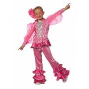 Roze disco Carnavalskleding kids