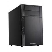 SilverStone PS07 Case PC ATX, Nero