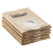 Karcher Papierfilterbeutel für Nass-/Trockensauger WD3