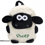 White and Black Sheep Baby Bag Stuffed Soft Plush Toy