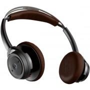 Casti Bluetooth Plantronics BackBeat SENSE, Multi Point (Negru/Maro)