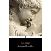 Three Plays: Alcestis,Hippolytus,Iphigenia in Tauris by Euripides