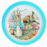 Assiette Bébé Bleue Peter Rabbit - Petit Jour