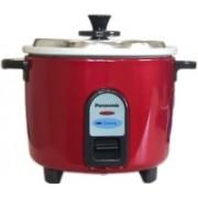Panasonic SR-WA10(GE9) Electric Rice Cooker(2.7 L, Burgandy)