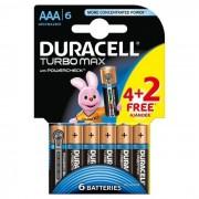 Baterii Duracell Turbo AAA/LR03 K4+2