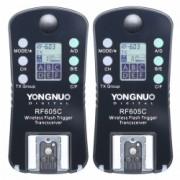 Yongnuo RF 605C - Set Declansatoare Radio pentru Canon, 2.4GHz