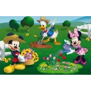Puzzle 2 in 1 - Clubul lui Mickey Mouse la ferma 66 piese