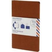 Moleskine Postal Notebook - Large Terracotta Red by Moleskine