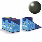 Revell Acrylics (Aqua) - 18ml - Aqua Olive Green Silk - RV36361