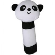 Panda Shape Cloth Fabric Squeaker Bar Sound Baby Play Toys