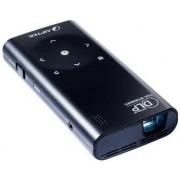 Videoproiector Aiptek PocketCinema V60, 50 lumeni, 640 x 480, Contrast 1000:1 (Negru)