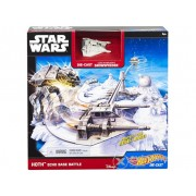 Set Hot Wheels Star Wars Echo Base Battle