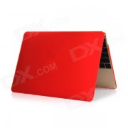 Akr Protective PC Full Body Case for Apple MacBook 12 Inch - Red