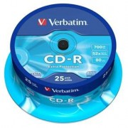 VERBATIM Spindle de 25 CD-R