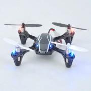 Cuadricoptero HUSBAN Mini 2.4GHz RC 4 canales 3D c/ LED RTF - Negro