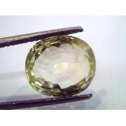 8.99 Ct Unheated Untreated Natural Ceylon Yellow Sapphire Pukhraj