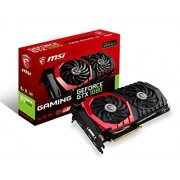 MSI GeForce GTX 1080 DirectX 12 GTX 1080 GAMING 8G 8GB 256-Bit GDDR5X PCI Express 3.0 x16 HDCP Ready SLI Support ATX Video Card