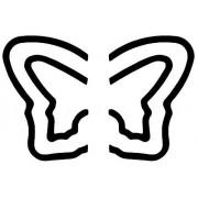 Wedo Pop-Up Maxi 168424 Perforateur À Motif Papillon