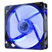 NOX NXCFAN120LBL-Ventola per case PC, 120 x 120 mm, colore: blu