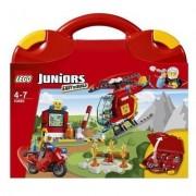 Lego juniors - valigetta pompieri