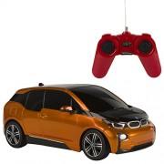 Rastar - BMW I3, coche teledirigido, escala 1:24, color naranja (ColorBaby 85052)