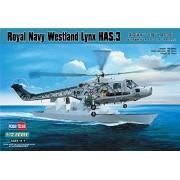 Hobbyboss Scala 1:72 -Modellino Elicottero Royal Navy Westland Lynx HAS.3 - HBB87237